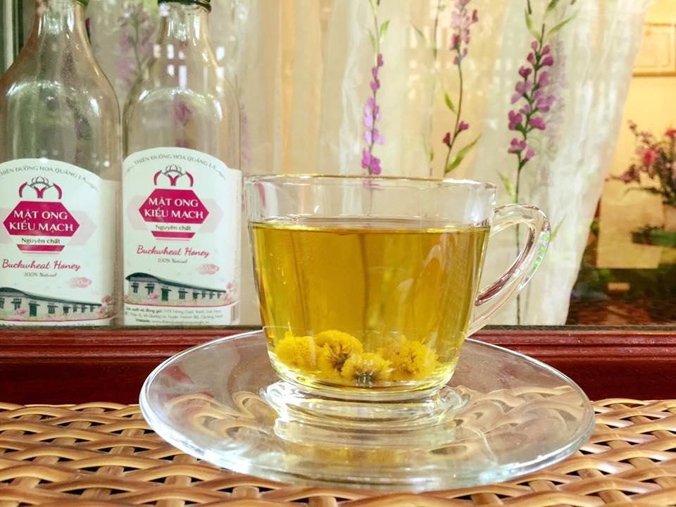 trà cúc hoa
